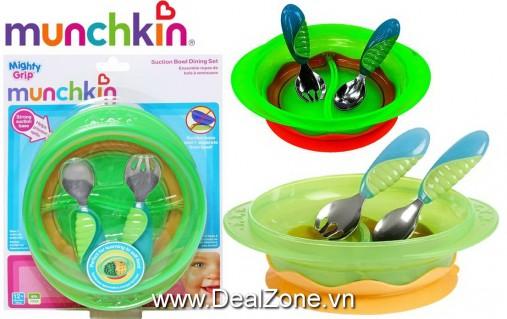 DZ967 - Bộ phụ kiện ăn chống đổ Munchkin