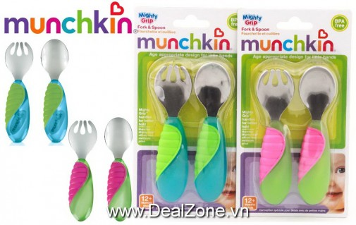 DZ979 - Bộ thìa và nĩa tập ăn Munchkin