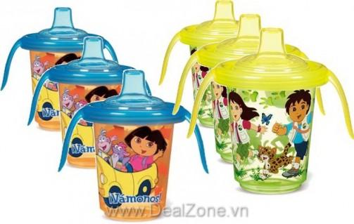 DZ1016 - Bộ 3 cốc tập uống hoạt hình...