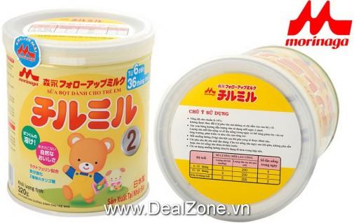 DZ1410 - Sữa bột Chilmil số 2 cho bé 6-36...