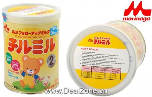 DZ1409 - Sữa bột Chilmil số 2 cho bé 6-36...