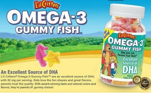 DZ925 - Gummy Omega-3 - Gummy USA 180v