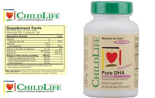 DZ1151 - Childlife Pure DHA - Bổ sung DHA