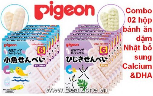 DZ1216 - Bánh ăn dặm Pigeon số 6 (2 hộp)