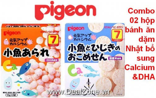 DZ1215 - Bánh ăn dặm Pigeon số 7 (2 hộp)