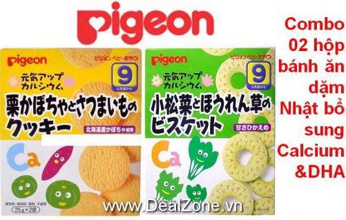 DZ1214 - Bánh ăn dặm Pigeon số 9 (2 hộp)