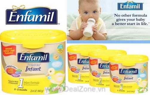 DZ1142 - SỮA BỘT ENFAMIL INFANT 1 (0-12 tháng) -...