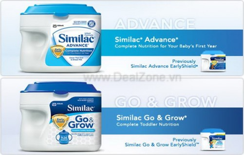DZ790 - SIMILAC ADVANCE/ hoặc SIMILAC GO&GROW