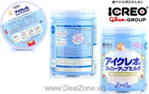 DZ1147 - Sữa Icreo Glico Nhật Bản số 9 (850gr)