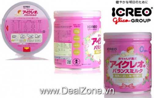 DZ1146 - Sữa Icreo Glico Nhật Bản số 0