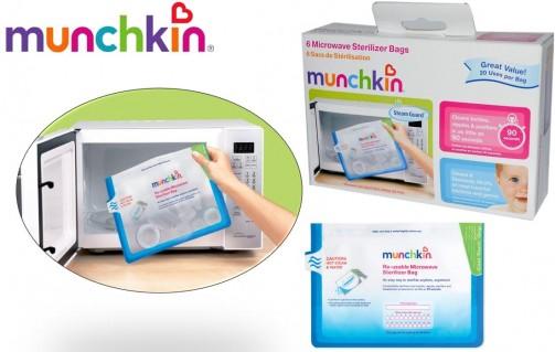 DZ980 - Set 6 túi tiệt trùng Munchkin