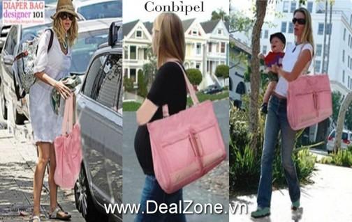 DZ353 - Túi xách siêu to cho Mẹ & Bé