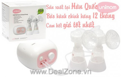 DZ1164 - Máy hút sữa ĐÔI bằng điện UNIMOM