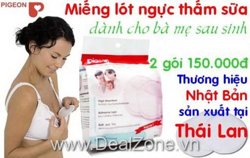 DZ555 - Combo 02 gói 48 miếng lót thấm sữa...