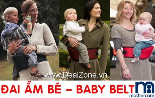 DZ657 - Đai ẵm bé bên hông hiệu Mothercare