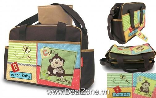 DZ858 - Túi đựng đồ cho mẹ & bé Luv U Zoo