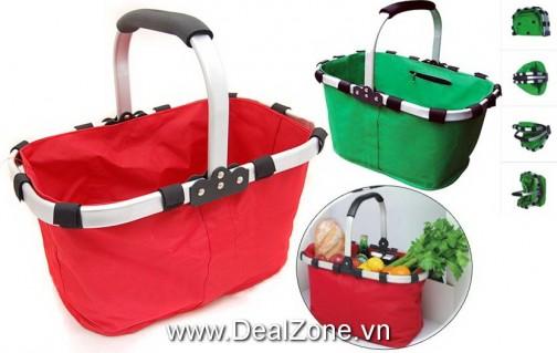 DZ1089 - Túi xách đi chợ đa năng Folder Basket
