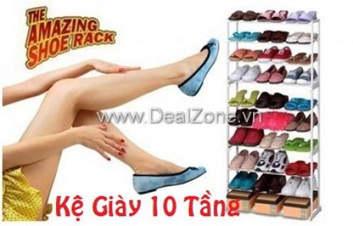 DZ560 - Kệ giày 10 tầng