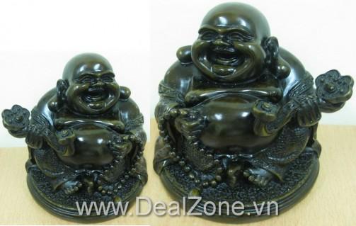 DZ671 - Tượng Phật Di Lạc bằng đá 15cm