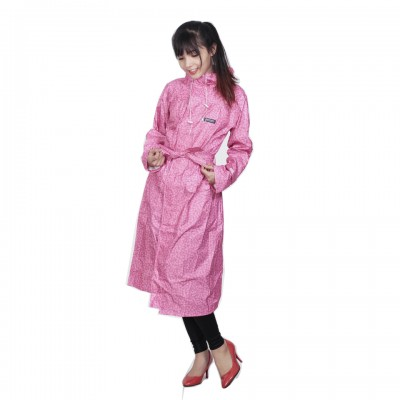 Áo mưa măng tô thời trang Sơn thủy K19 hồng...