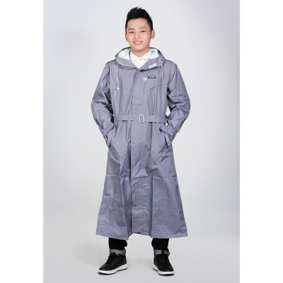 Áo mưa măng tô nam Sơn Thủy K20 xám