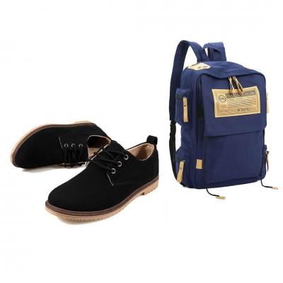 Bộ ba lô và giày nam Glado phong cách