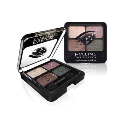 [Eveline] Phấn mắt 4 màu Eveline