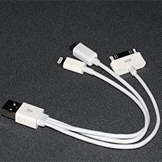 DH Deal - Cap sac usb da nang cho Iphone 5, Apple, Samsung, Micro USB...ID681