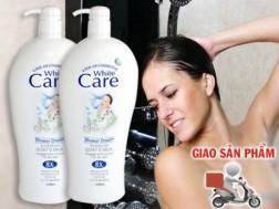 Chỉ 90.000 cho 2 chai sữa tắm dê Malaysia 8x White Care 1200ML. Giảm 40% cho thành viên dhdeal.vn