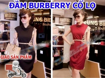 Áo đầm Burberry Cổ Lọ mode thời trang mới nhất hiện nay. Ưu đãi giảm 50% giá cho thành viên dhdeal.vn