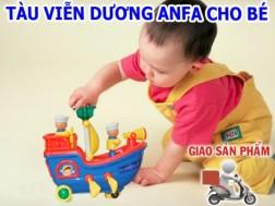 Tàu viễn dương Anfa giúp bé khám phá những điều mới lạ. Ưu đãi giảm 50% giá cho thành viên dhdeal.vn - 1 - Đồ dùng trẻ em