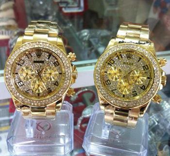 Đồng hồ nữ Rolex Lady - Đồng hồ được thiết kế theo phong cách thời thượng, cực sang co phái đẹp.ID763