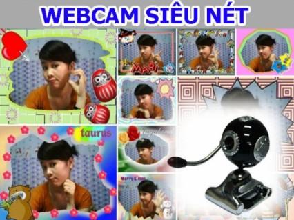 Webcam siêu rõ, độ phân giải cực nét, quay clip cam, chụp hình Hàn Quốc cực đỉnh.