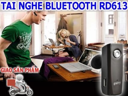 Thoải mái nghe nhạc và đàm thoại với tai nghe Bluetooth RD-613 đầy tiện ích. Giảm 50% giá cho thành viên dhdeal.vn