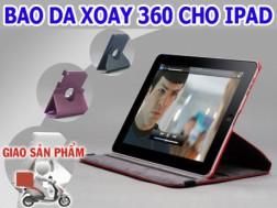 Khẳng định phong cách thời thượng với BAO DA XOAY 360 CHO IPAD 2, 3. Giảm 51% cho thành viên dhdeal.vn