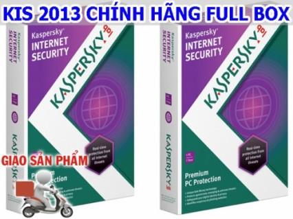 Tận hưởng thế giới Internet an toàn với Kaspersky Internet Security 2013 Chính hãng full box.