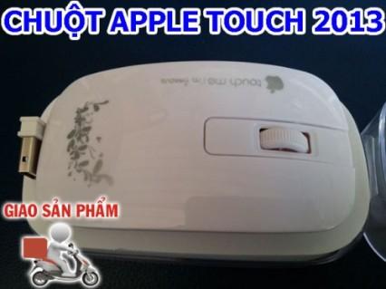 """Đẳng cấp công nghệ Apple năm 2013 với Chuột không dây """"Apple Touch Me"""" hoa văn tinh xảo."""