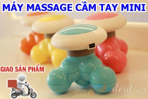 Massage toàn thân mọi lúc mọi nơi, giảm nhức mỏi, căng thẳng tức thì với máy massage mini cầm tay. - 2 - Đồ Dùng Cá Nhân