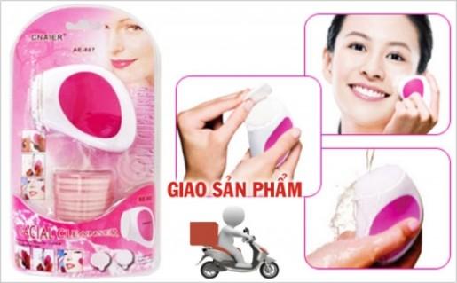 Máy massage + rửa mặt MYM +20 miếng bông làm sạch bã nhờn và bụi bẩn,Tẩy Tế Bào Chết, Xóa Mờ Nếp Nhăn - 1 - Dịch Vụ Làm Đẹp