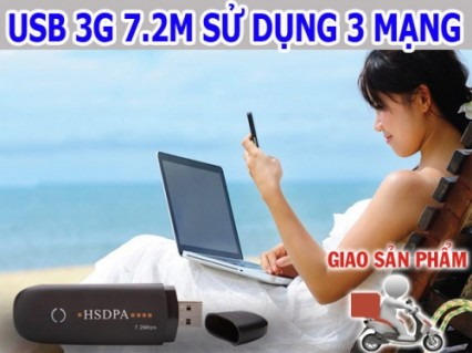 Thoải mái lướt web tốc độ cao ở bất kỳ đâu với 3.5G HSPDA 7.2Mbps. Chạy tốt trên table, Laptop, PC - 1 - Công Nghệ - Điện Tử