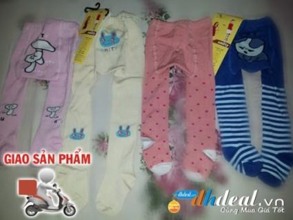 Bé đáng yêu và rất dễ thương với quần len mông hình thú cho bé, sản phẩm khuyến mãi duy nhất tại dhdeal