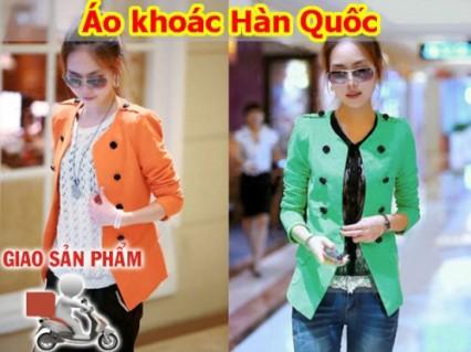 Áo khoác Hàn Quốc- túi giả kiểu vest cao cấp trẻ trung mang đến nét đáng yêu, thanh lịch cho phái đẹp.