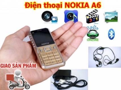 Điện thoại NOKIA A6 2 sim 2 sóng đầy đủ phụ kiện, Full chức năng giá lại cực shock chỉ 338.000đ ♥. - 1 - Công Nghệ - Điện Tử