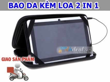 Bao da kèm loa 2 in 1 cho máy tính bảng 7 inchs - bảo vệ tối ưu cho chiếc máy tính bảng của bạn ♥ .
