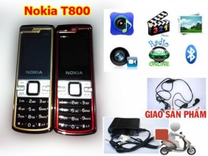 Điện thoại Nokia T800 siêu nhỏ gọn với nhiều chức năng tuyệt hảo mà giá lại cực shock chỉ 388.000đ. - 1 - Công Nghệ - Điện Tử
