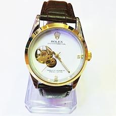 Đồng hồ không PIN Rolex One Dây Da | Dong ho khong pin Rolex One day da - ID1289