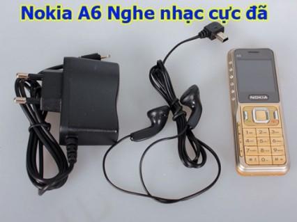 Điện thoại NOKIA A6 2 sim 2 sóng đầy đủ phụ kiện, Full chức năng, loa khủng - nghe nhạc cực đã ♥