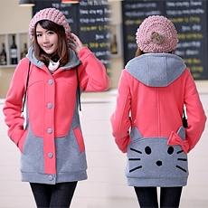 Áo khoác Kitty | Ao khoac Kitty - Màu Hồng - ID1481