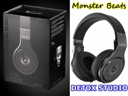 Một trải nghiệm âm nhạc tuyệt vời cho người sành điệu từ Monster Beats Detox Studio dây tháo lắp rời 3.5mm. - Công Nghệ - Điện Tử