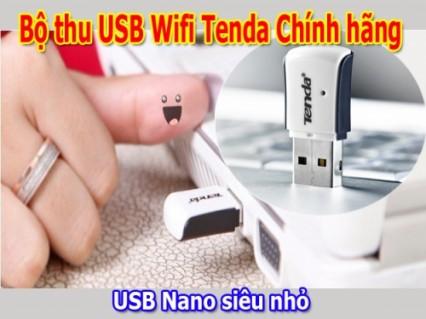 USB mini thu sóng wifi cho máy tính để bàn và Laptop ... - Cực kỳ Nhỏ gọn với công nghệ Nano siêu nhỏ, siêu bền